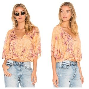 Free People | One Dance Floral Print Top